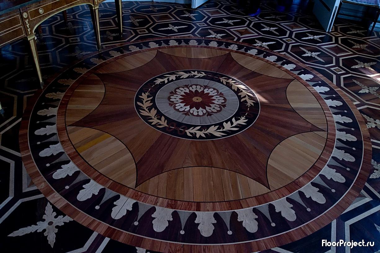 The Pavlovsk Palace floor designs – photo 16