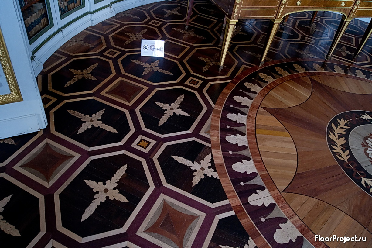 The Pavlovsk Palace floor designs – photo 14