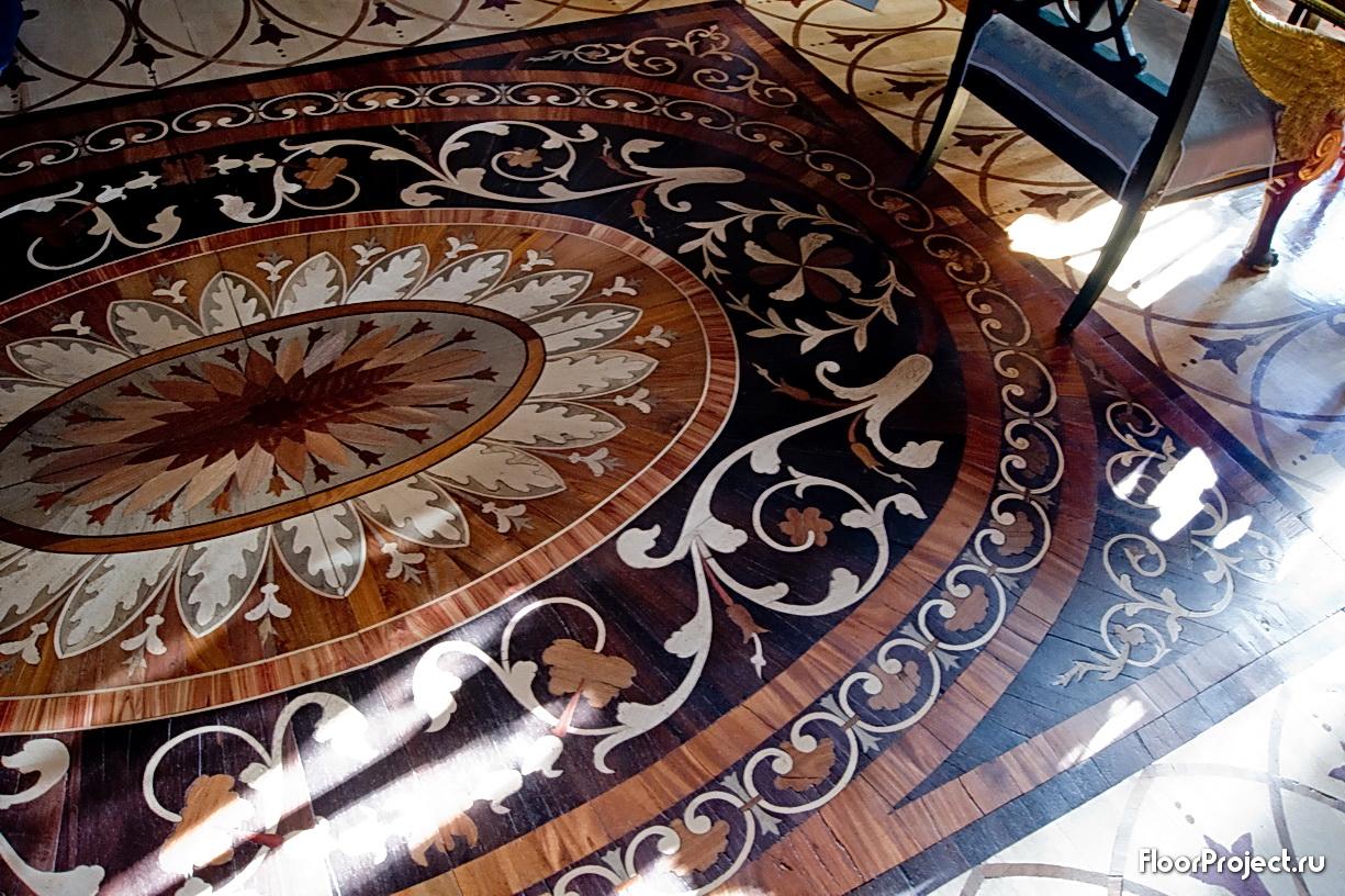 The Pavlovsk Palace floor designs – photo 11