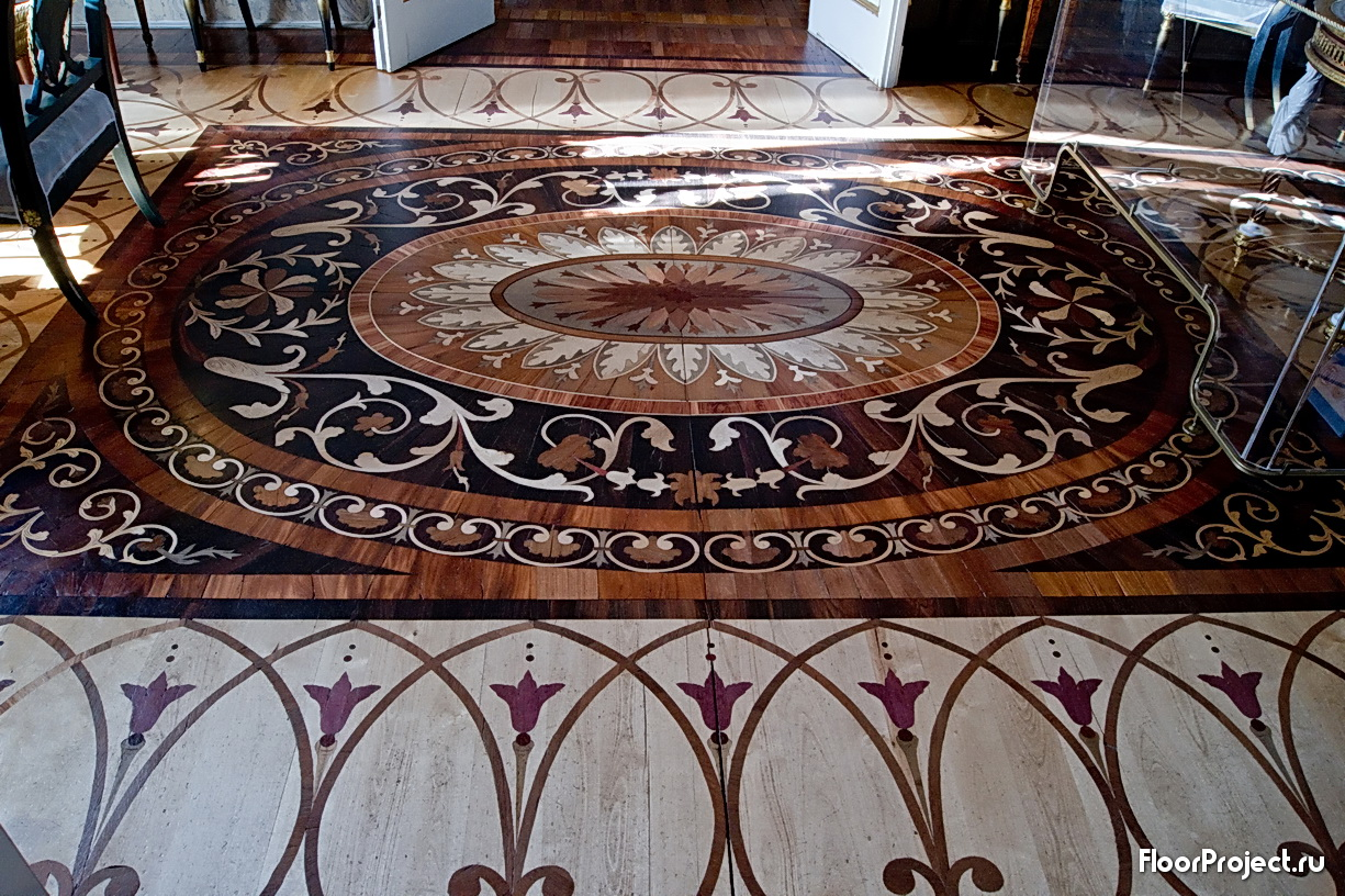The Pavlovsk Palace floor designs – photo 7