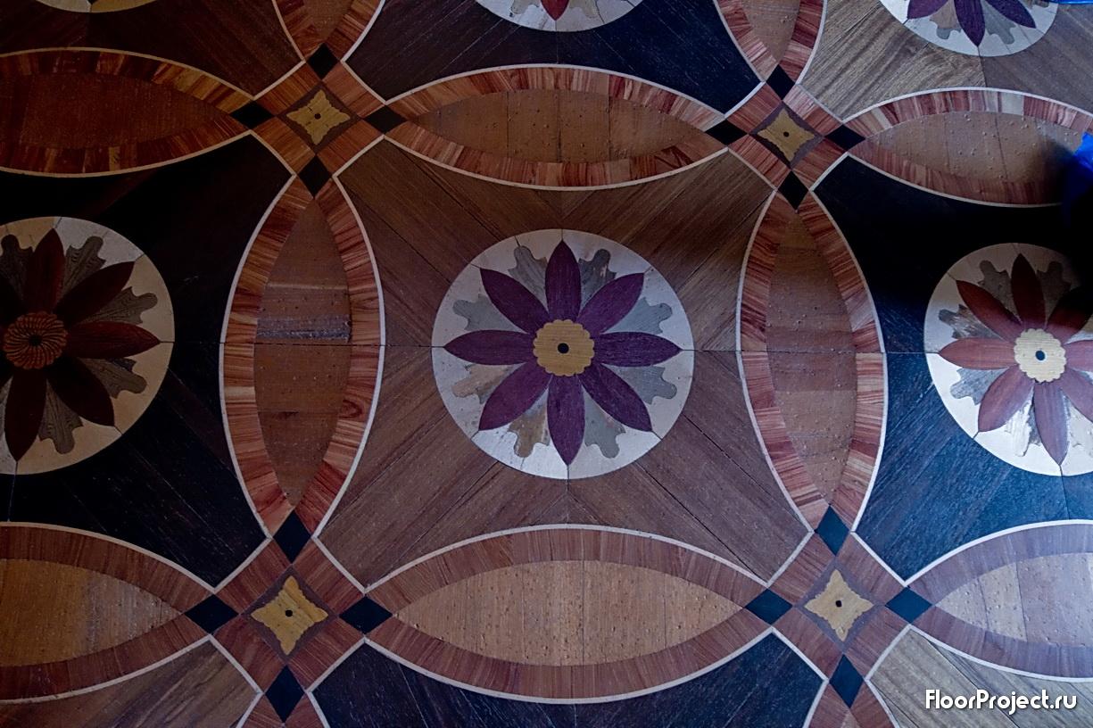 The Pavlovsk Palace floor designs – photo 5
