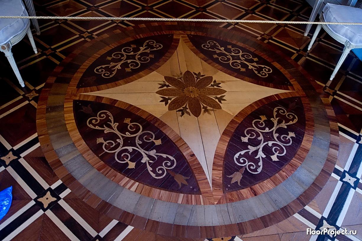 The Pavlovsk Palace floor designs – photo 2