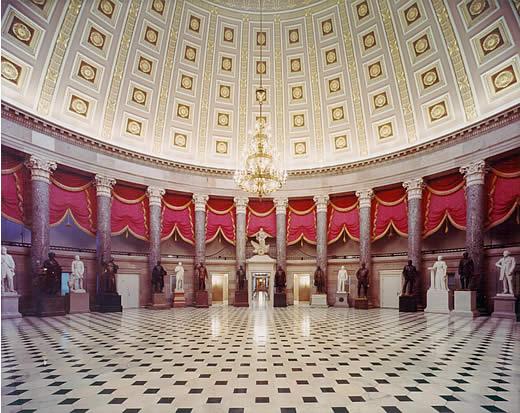 Национальный зал штатов Капитолия, Вашингтон