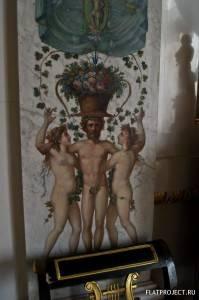 Декор интерьеров Павловского дворца — фото 98