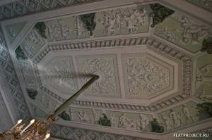 Декор интерьеров Павловского дворца — фото 38