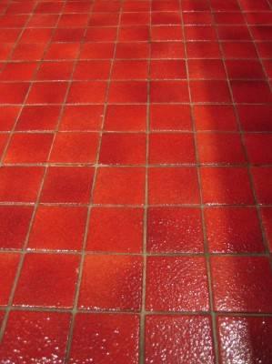 Пол из керамической плитки — фото 2