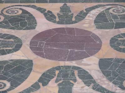 Мозаичный пол — фото 1