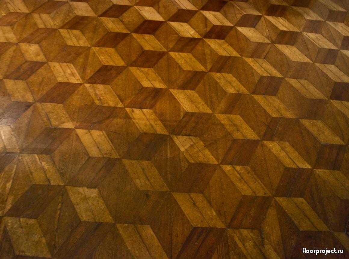The Menshikov Palace floor designs – photo 15