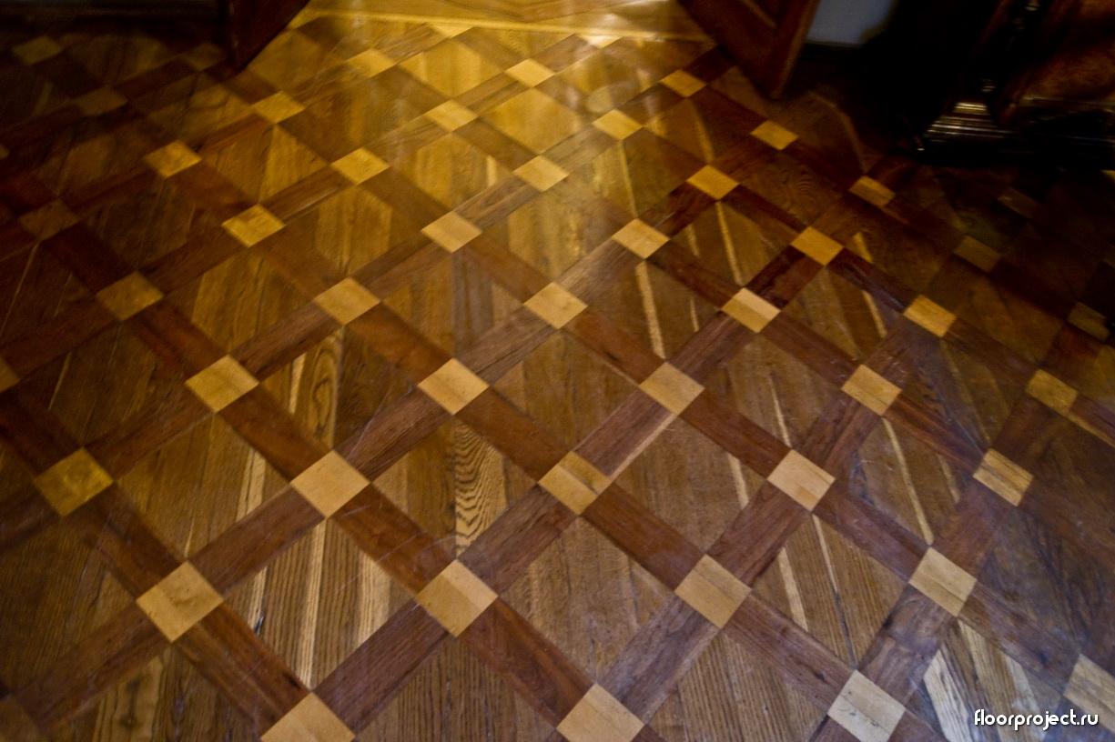 The Menshikov Palace floor designs – photo 8