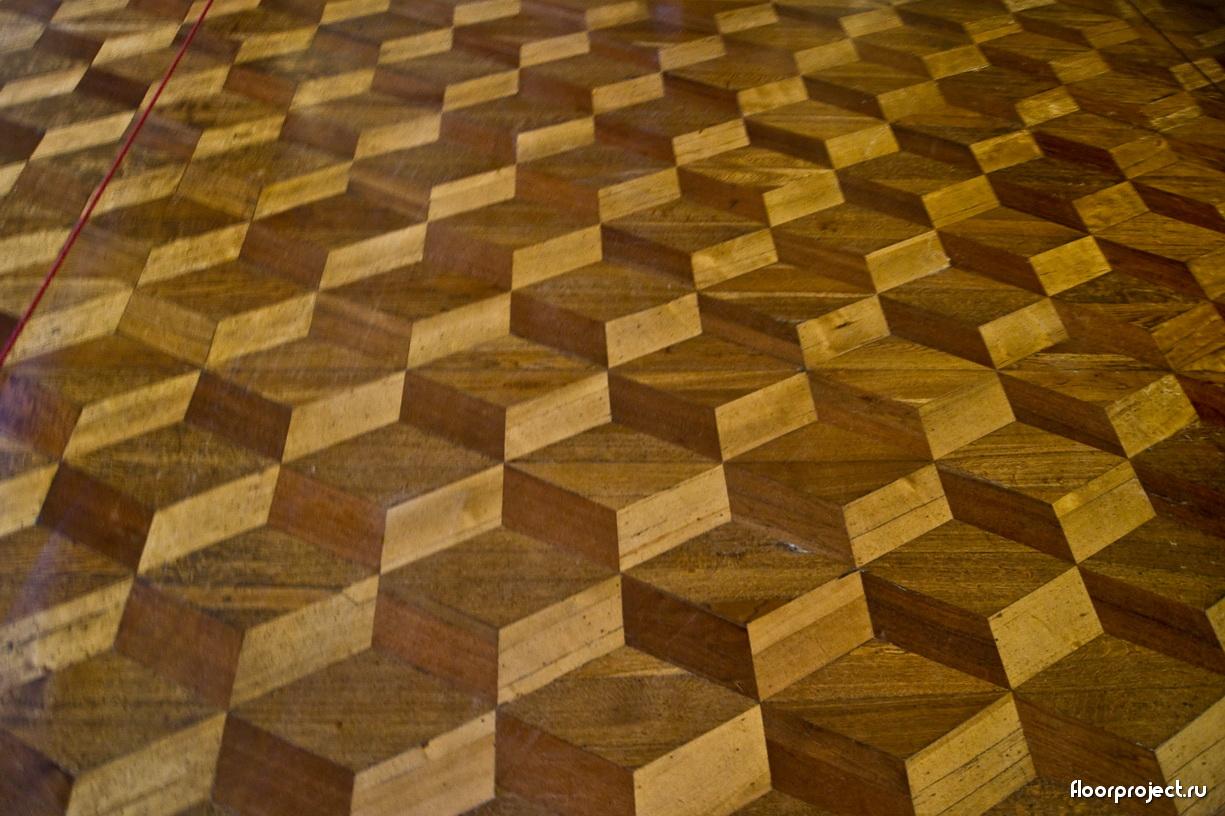 The Menshikov Palace floor designs – photo 11