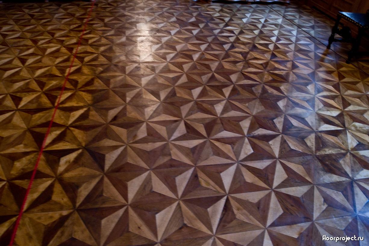 The Menshikov Palace floor designs – photo 5