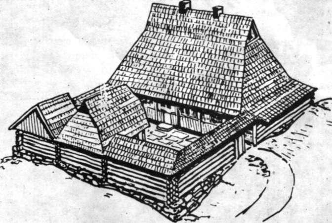 Постройка хозяйственного двора своими руками