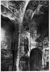 Фреска Воскрешение Лазаря С-З Угла Церкви