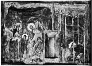 Введение во Храм. Моление о Посохах