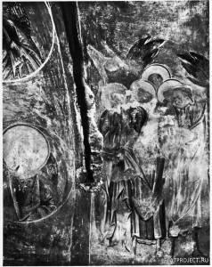 Апостолы из Сцены «Вознесение» на Стене Церкви