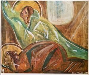 Марфа и Мария из Сцены «Воскрешение Лазаря»