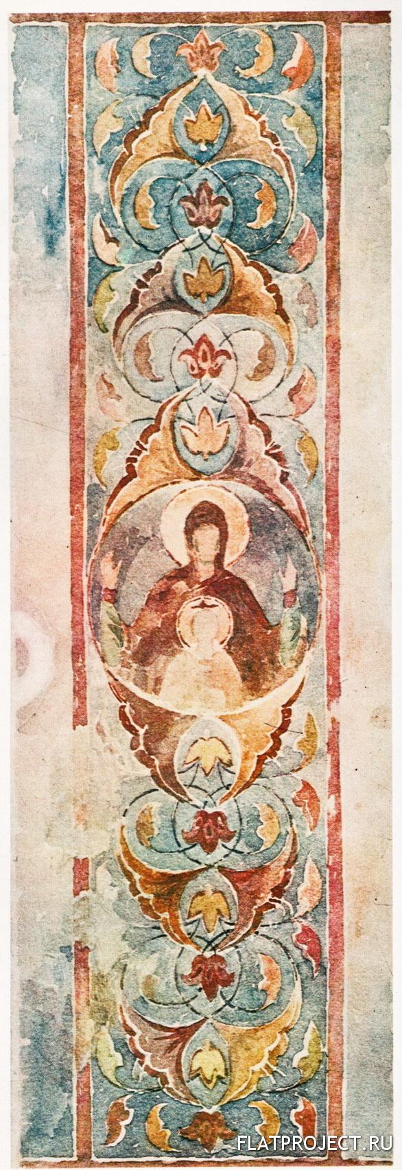 Богоматерь Знамение. Орнамент