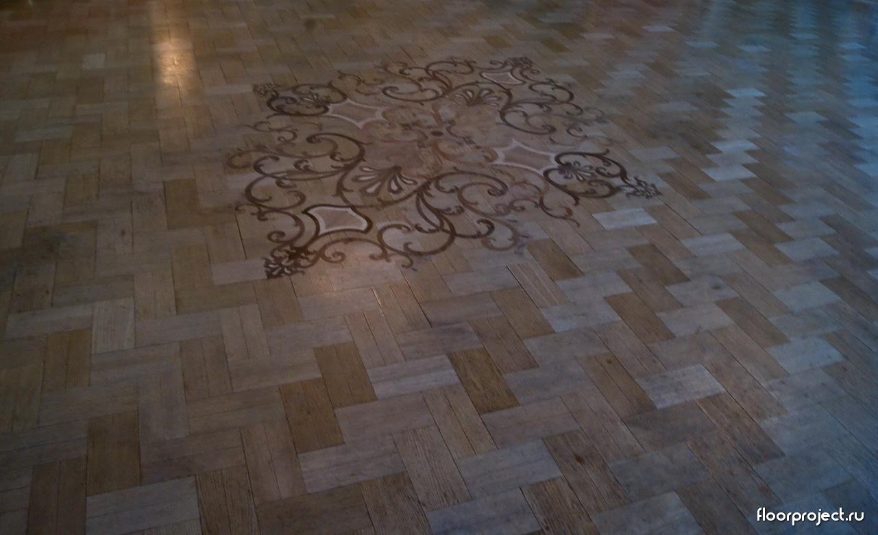 The Stroganov Palace floor designs – photo 2