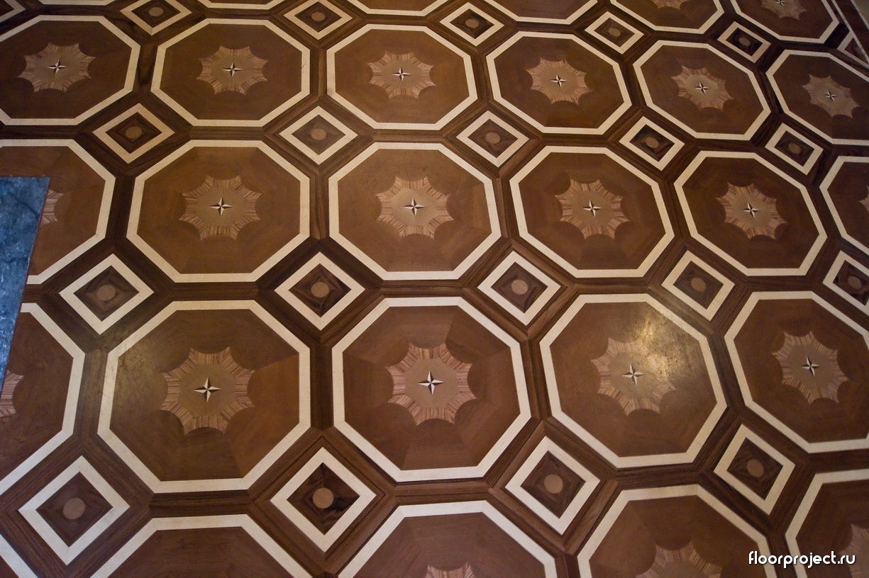 The Stroganov Palace floor designs – photo 8