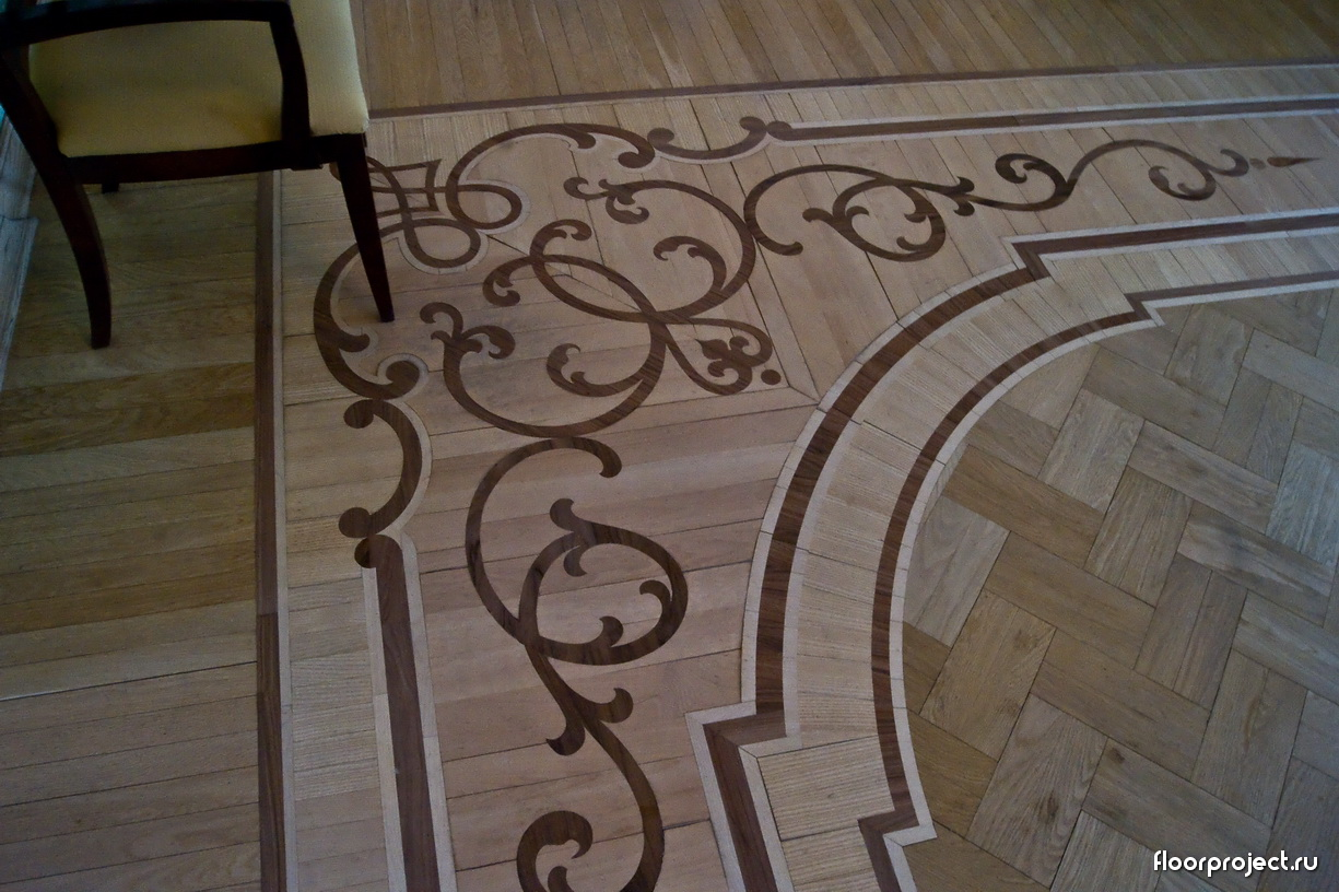 The Stroganov Palace floor designs – photo 11
