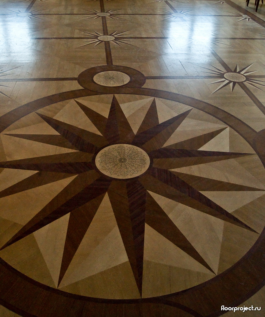 The Stroganov Palace floor designs – photo 15
