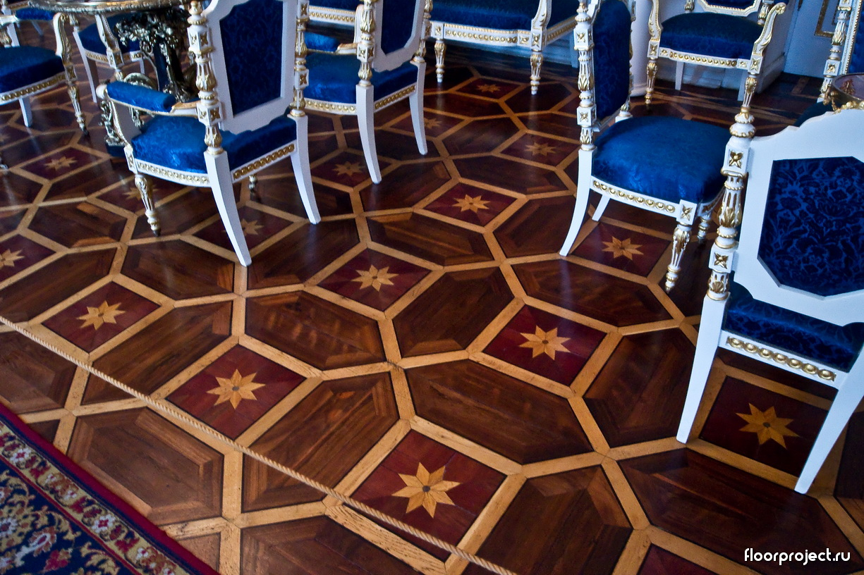 The Yusupov Palace floor designs – photo 2