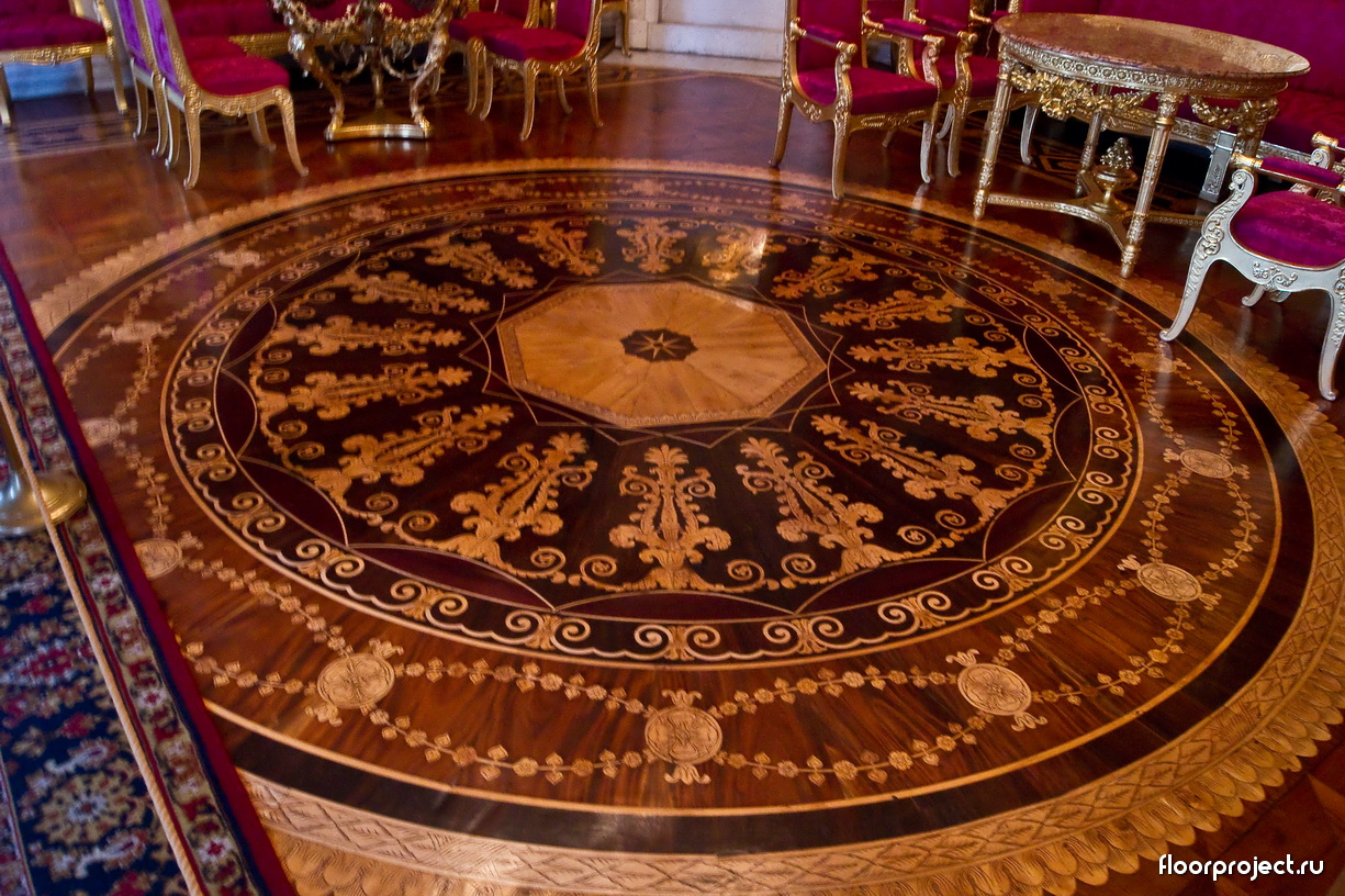 The Yusupov Palace floor designs – photo 3