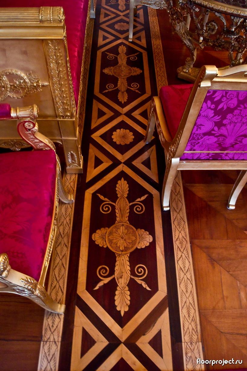 The Yusupov Palace floor designs – photo 4