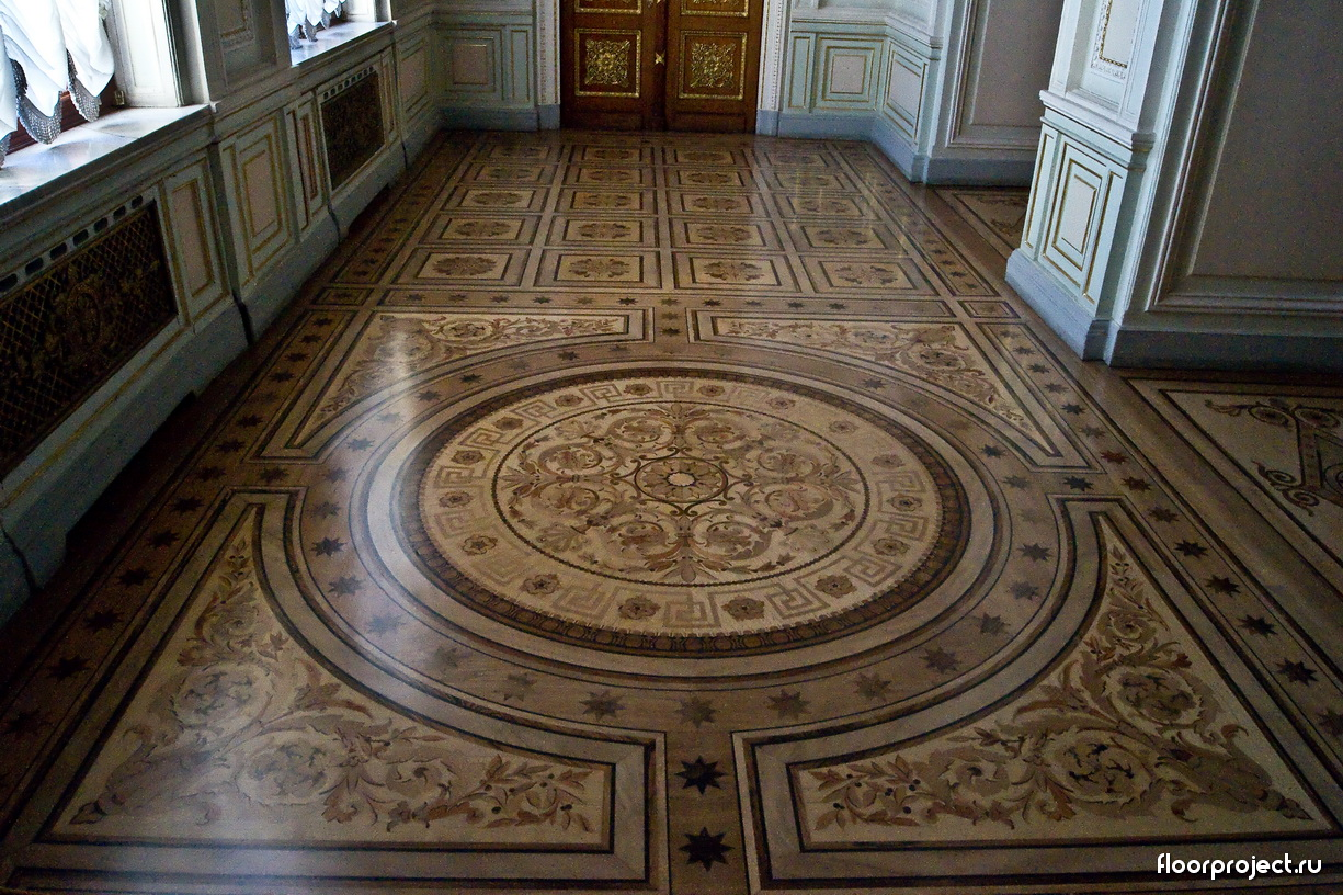 The Yusupov Palace floor designs – photo 6