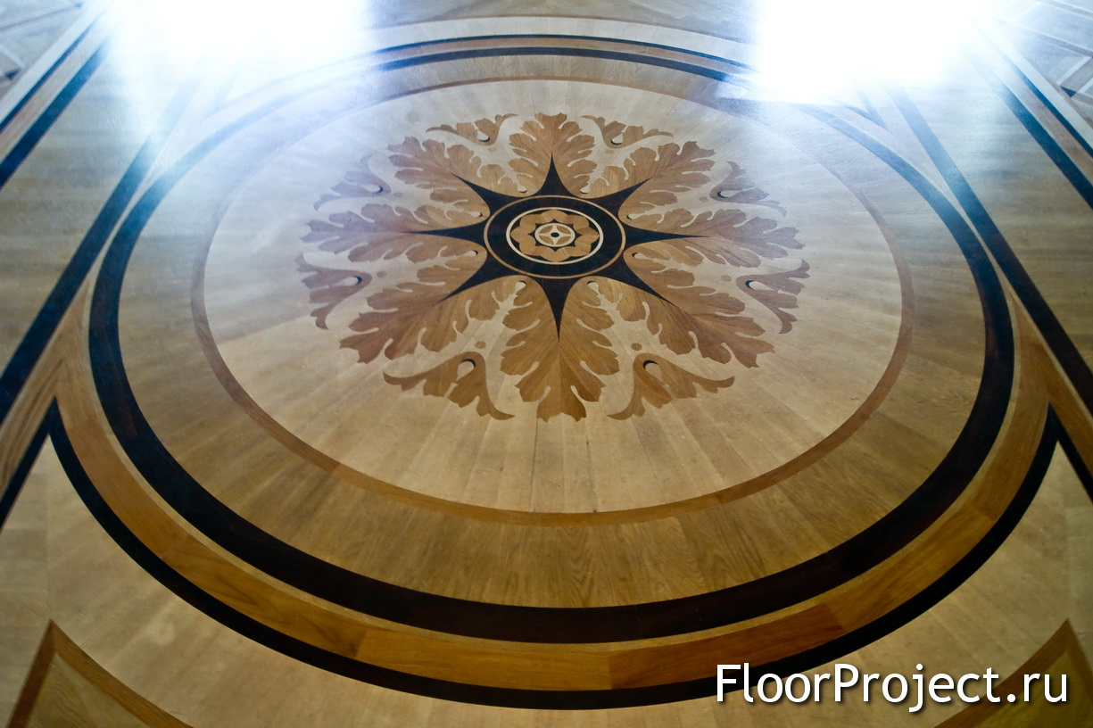 The St. Michael's Castle floor designs – photo 4