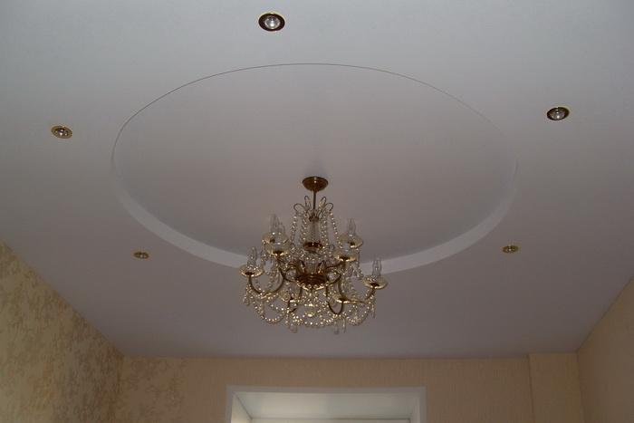 Двухуровневый потолок от «МИР ПОТОЛКОВ И СТЕН»