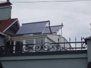 Солнечная батарея накрыше