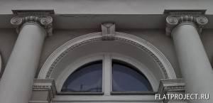 Декор амбразуры и колонн
