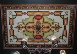 Витражный потолок — фото 59