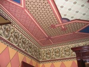 Восточная роспись потолка