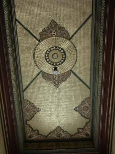 Мозаичный потолок от дизайнера Tania Seabock