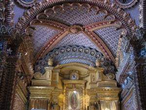 Потолок в церкви Девы Марии Гвадалупской, Морелия