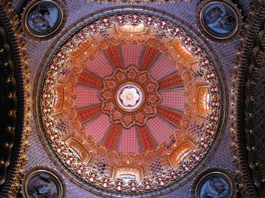 Купол церкви Девы Марии Гвадалупской, Морелия