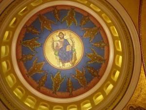 Купол церкви Святой Софии в Вашингтоне