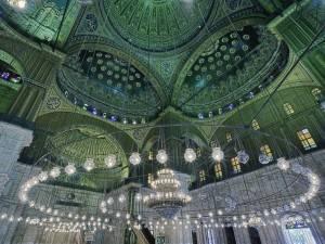 Потолок мечети Али Мухаммеда в Каире (фото 2)