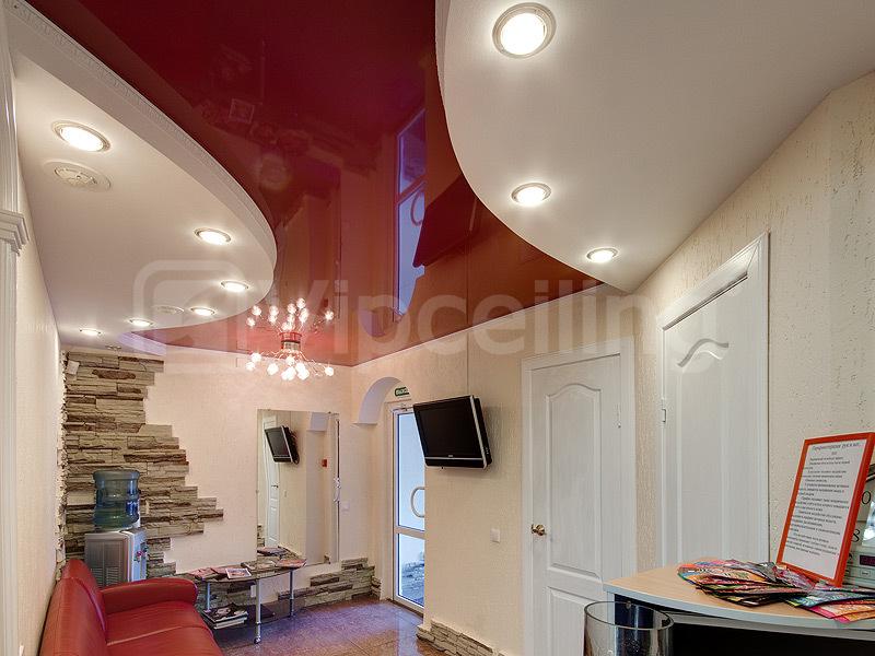 Натяжной потолок в салоне красоты Екатеринбург