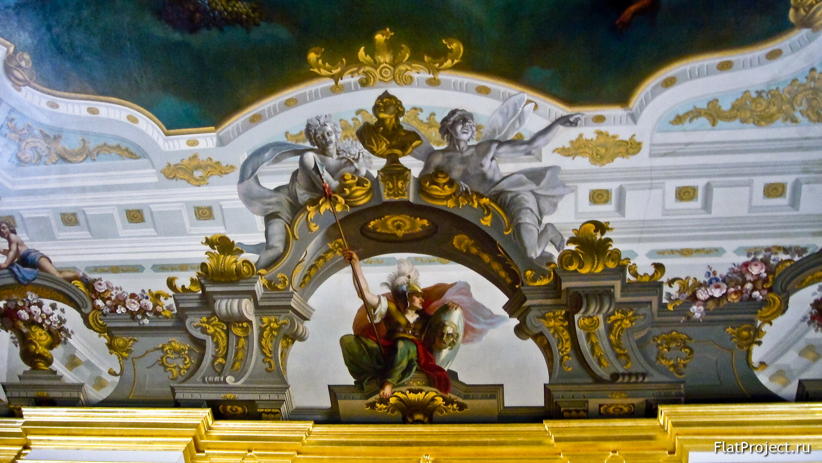 The Catherine Palace interiors – photo 277