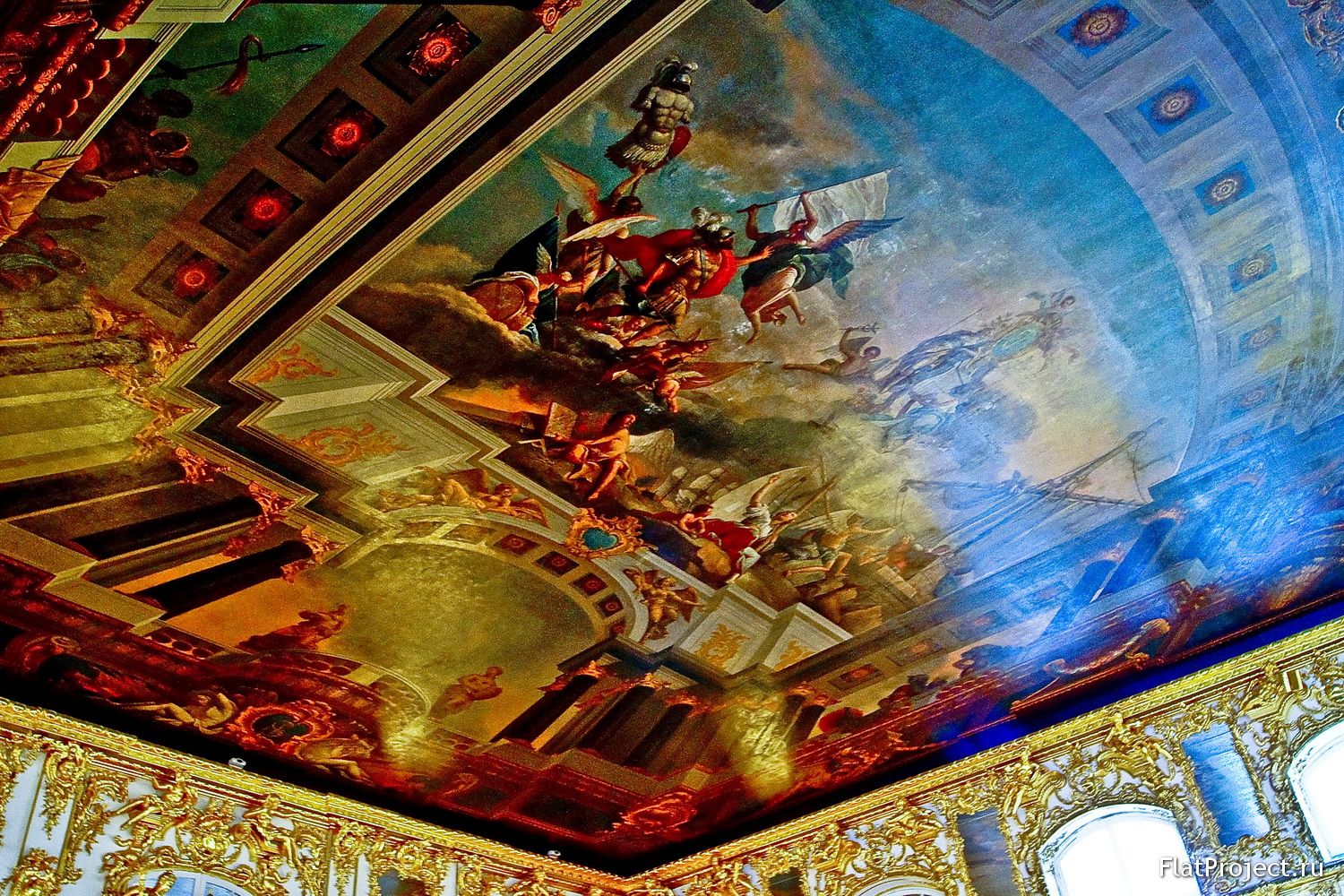 The Catherine Palace interiors – photo 326