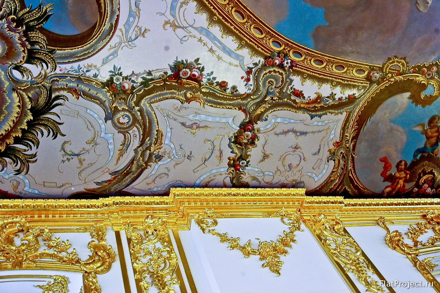 The Catherine Palace interiors – photo 271
