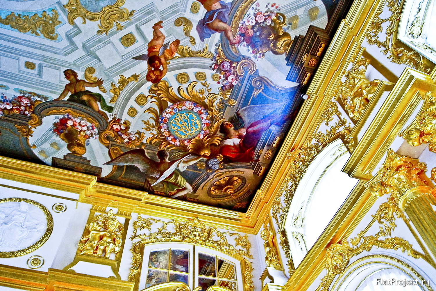 The Catherine Palace interiors – photo 309