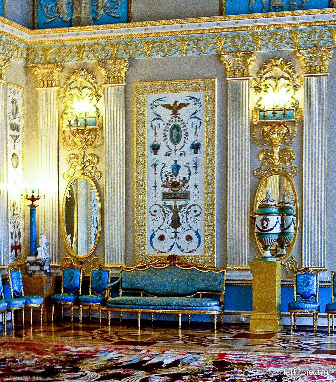 The Catherine Palace interiors – photo 221