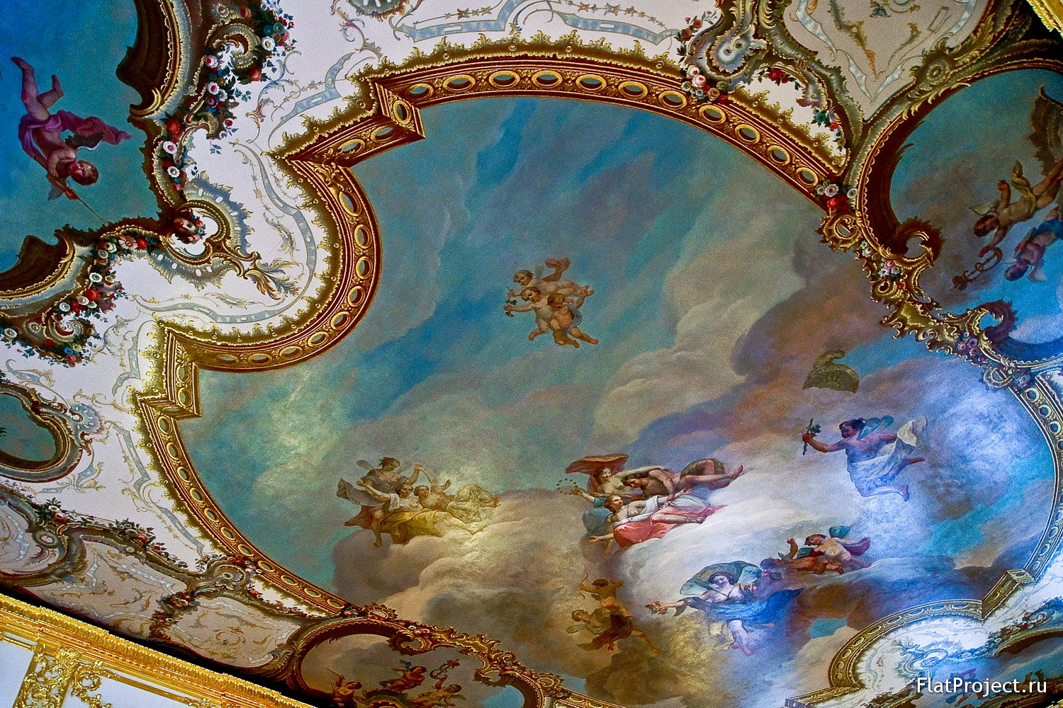 The Catherine Palace interiors – photo 264