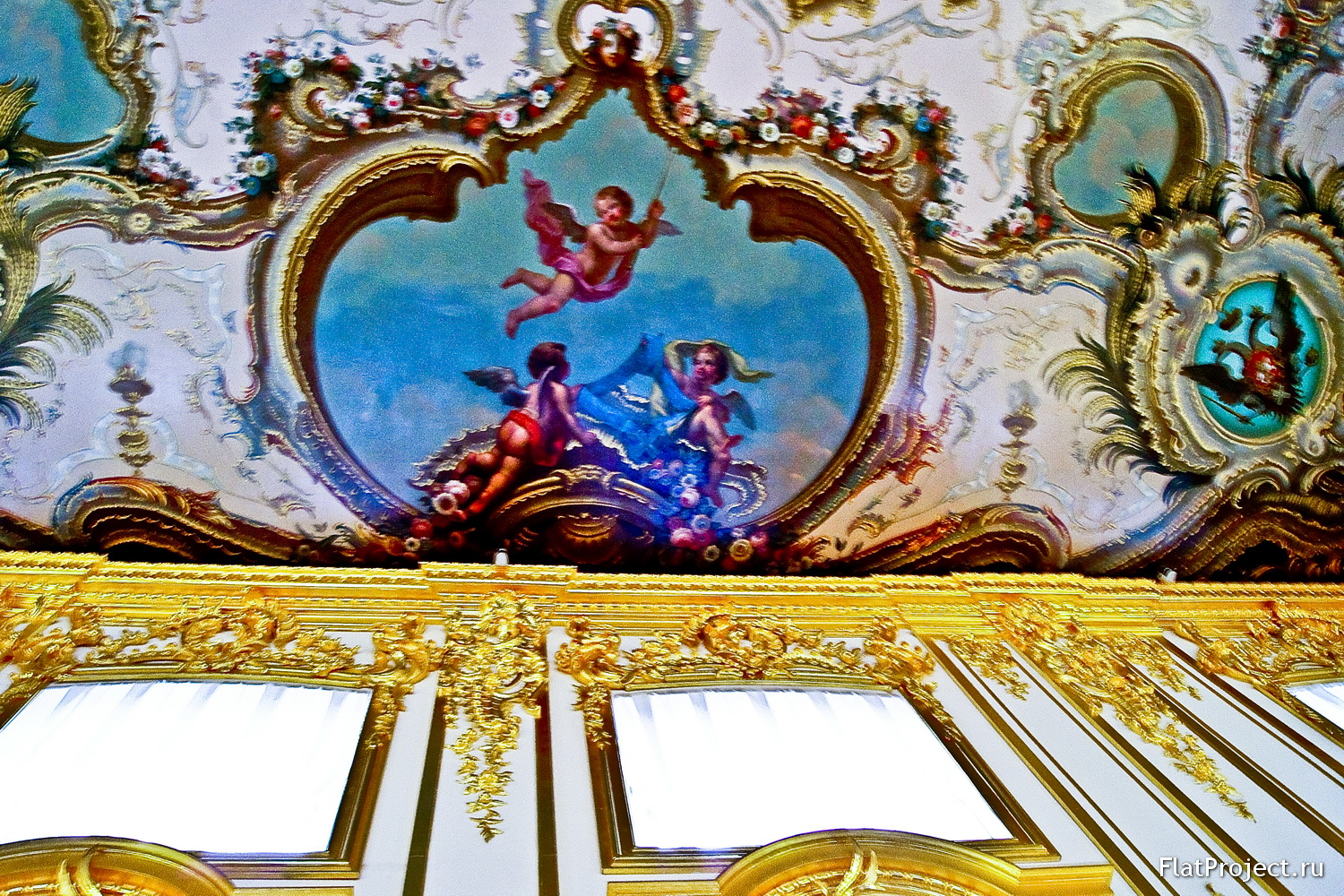 The Catherine Palace interiors – photo 308