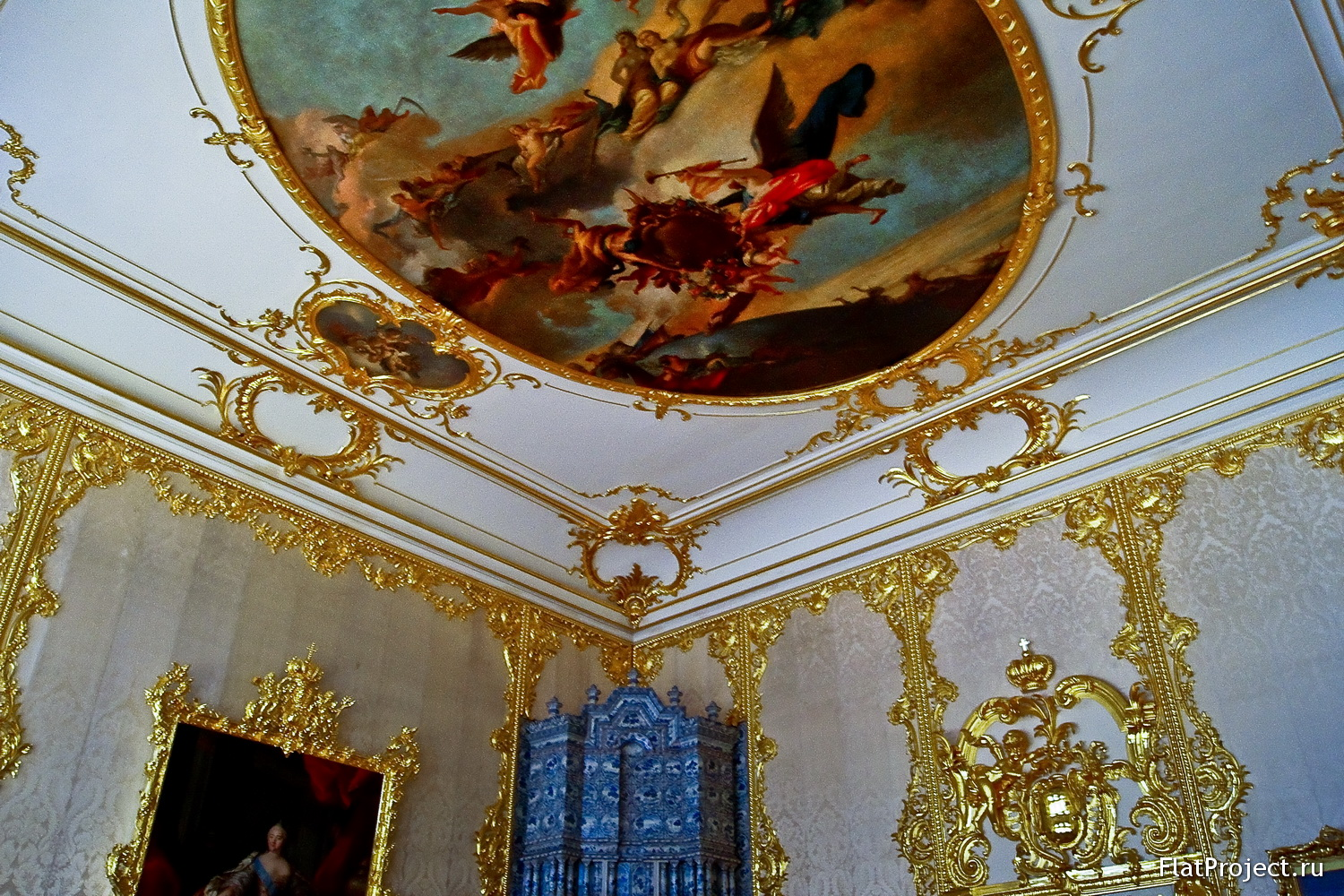 The Catherine Palace interiors – photo 153
