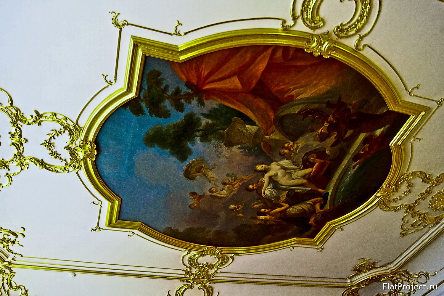 The Catherine Palace interiors – photo 125